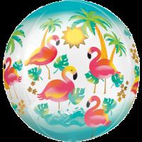 Flamingo Orbz Balloon in a Box