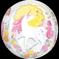 Believe in Unicorns Orbz Balloon in a Box
