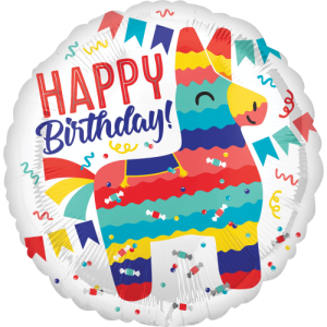 Llama Birthday Celebration Balloon in a Box