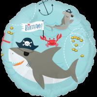 Happy Birthday Ahoy! Balloon in a Box