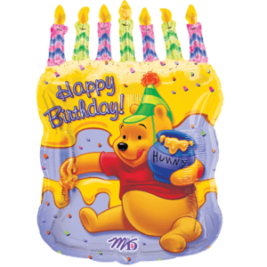 Pooh Bear Honey Cake