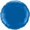 "18"" Custom Printed Dark Blue Round Foil Balloons overview"