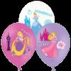 "11"" Coloured Princess Print x 6 overview"