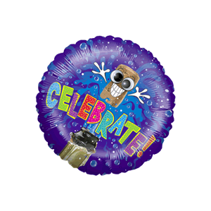 Wiggle Wobble - Celebrate! Balloon in a Box