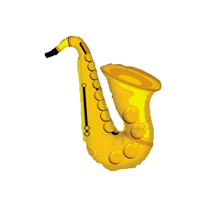 Large Saxophone Shape