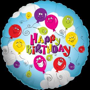 Happy Balloon Birthday Balloon in a Box