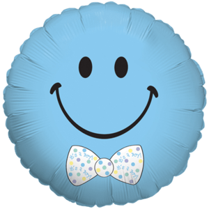 Happy baby boy Balloon in a Box