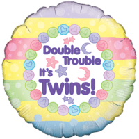 Its Twins Double Trouble Time! Balloon in a Box
