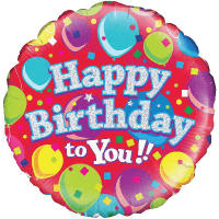Happy Birthday To You Balloons  Balloon in a Box