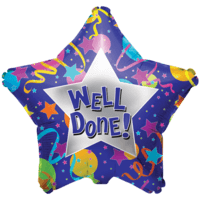 Well Done Star Balloon in a Box