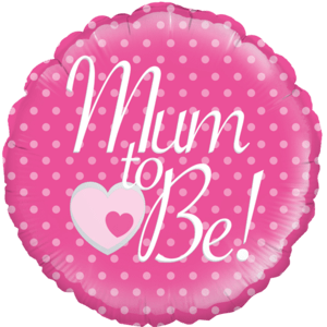 "18"" Mum to Be Balloon in a Box"