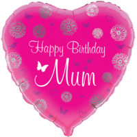 Happy Birthday Mum Heart
