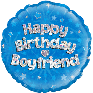 "18"" Happy Birthday Boyfriend Balloon in a Box"