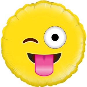 Joking Emoji Balloon in a Box