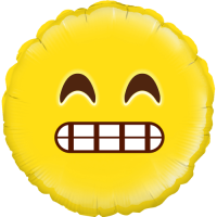 Grin Emoji Balloon in a Box