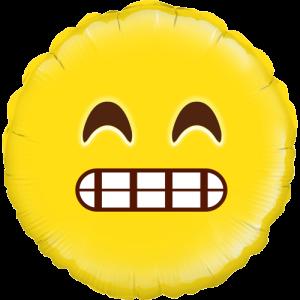 Grin Emoji Balloon in a Box