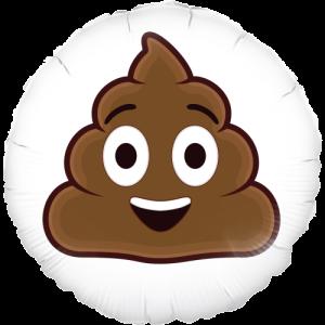 Pile of Poo Emoji Balloon in a Box