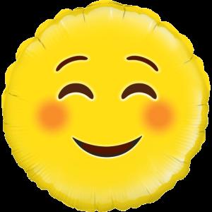 Smile Emoji Balloon in a Box