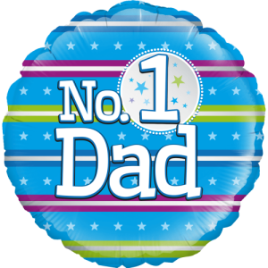 Number 1 Dad Balloon in a Box