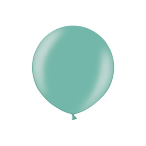 3ft Metallic Green Latex Balloon Product Display