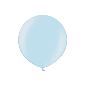3ft Metallic Light Blue Latex Balloon