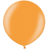3 Foot Metallic Bright Orange Latex Balloon overview