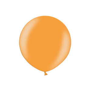 3ft Metallic Bright Orange Latex Balloon Product Display