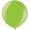 3 Foot Metallic Lime Green Latex Balloon overview