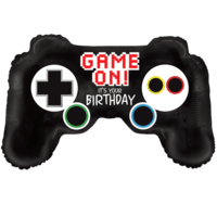 Video Game Controller Birthday Balloon in a Box