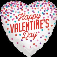 Glittering Valentine Confetti Balloon in a Box