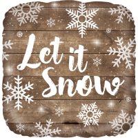 Let it Snow Balloon in a Box
