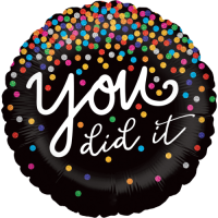 You Did It Confetti Balloon in a Box