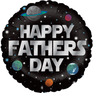 Galactic Father's Day Balloon in a Box