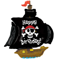 Birthday Jolly Roger! Balloon in a Box