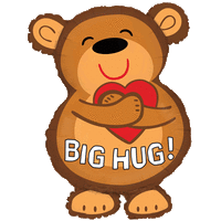Big Hug Bear Balloon in a Box
