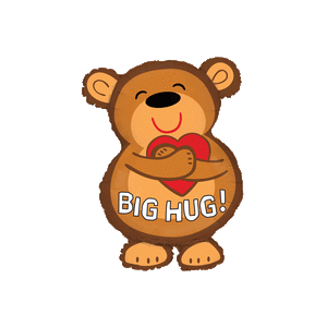 Bear Hugs Balloon in a Box