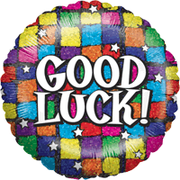 Good Luck Colourful Squares