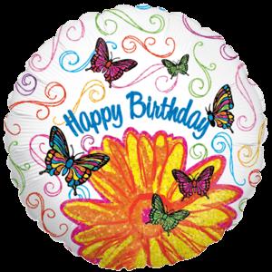 Happy Birthday Pop Art Fun! Balloon in a Box