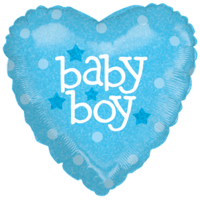 Bright Baby Boy  Balloon in a Box