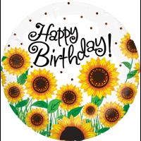 Sunflower Birthday  Balloon in a Box