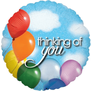 Thinking of You Balloon Sky Balloon in a Box