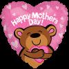 "18"" Big Hug Mothers Day Bear Balloon overview"