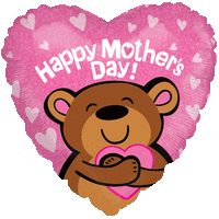 Happy Mother's Day Hugs Balloon in a Box