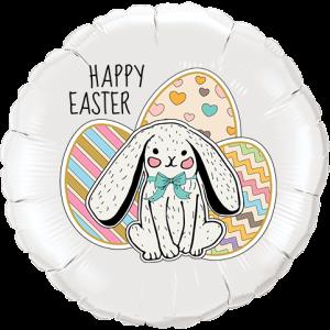 Bunny Easter Eggs Balloon in a Box