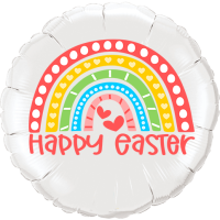 Happy Easter Rainbow Balloon in a Box