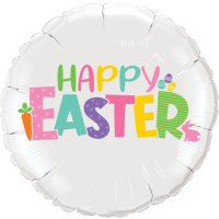 Happy Easter Pastels Balloon in a Box