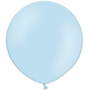 2ft Sky Blue Giant Balloons Product Display