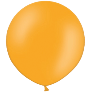 2ft Orange Giant Balloons Product Display
