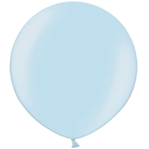 2ft Metallic Light Blue Giant Latex Balloon Product Display