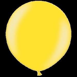 2ft Metallic Citrus Yellow Giant Latex Balloo Product Display